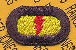 75th Inf Airborne Ranger LRP LRRP para oval patch #2