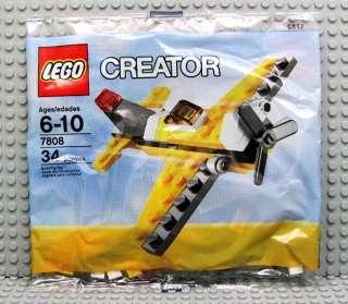 NEW Lego Creator Set 7808 MINI AIRPLANE Air Plane NISP