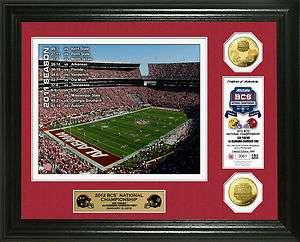 2012 BCS National Championship Game Alabama Crimson Tide Gold Coin