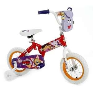 12 Girls Huffy Dora the Explorer Bike Bicycle with Training Wheels