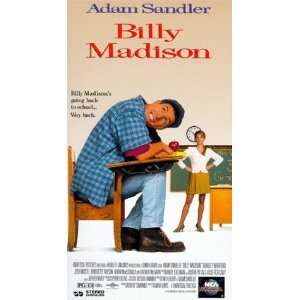 Billy Madison [VHS] Adam Sandler, Darren McGavin