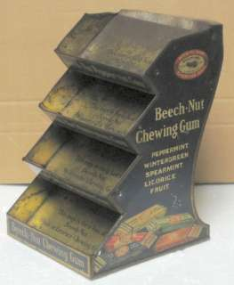 Beech Nut Chewing Gum Tin Store Display