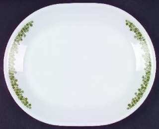 Crazy Daisy Oval Serving Platter Corelle Spring Blossom
