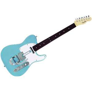 Rock Band 3 Wireless Fender Telecaster Players Edition   Blue (Xbox