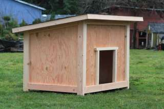 Large Dog House Plan #2 * * * * * * * *