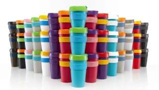 KeepCups fit into most car cup holders and many bicycle bottle holders