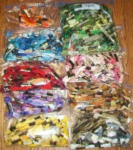 Lot 988 Skeins of DMC Embroidery Floss Thread and Organizers Keeper