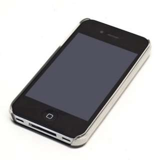 AIR JACKET ULTRA THIN CRYSTAL CLEAR HARD CASE APPLE iPHONE 4 4S 4G