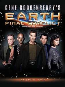 Earth Final Conflict   Season 2 DVD, 2010, Canadian 065935837756