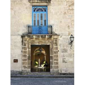 Entrance of Casa Del Conde De Casa Bayona, Now the Museum of Colonial