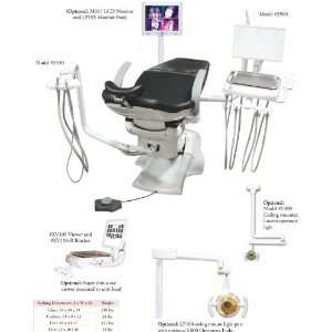 Chair Package No Cuspidor   Complete Dental Unit Chair Mounted System