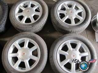08 10 Cadillac CTS Factory 17 Wheels Tires OEM RIms 4612 5x120