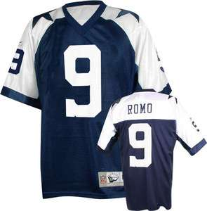 Dallas Cowboys Tony Romo #9 Throwback Football Jersey