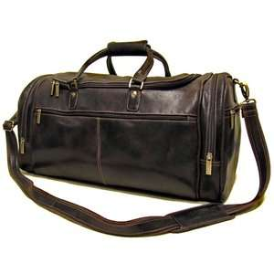 Donne Leather 21 Distressed Leather Overnighter Travel Duffel Bags