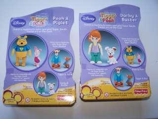 MY FRIENDS TIGGER&POOH Toy Figure Set NIP New Darby FP