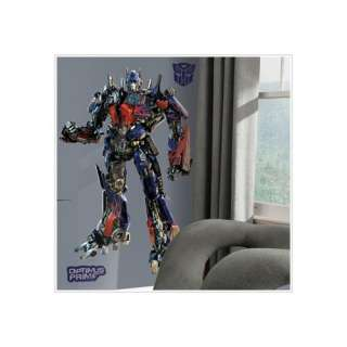 Room Mates Transformers Optimus Prime Giant Peel and Stick Wall Decal