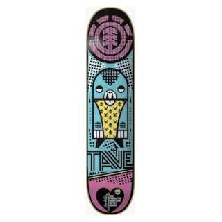 Element Skateboards Tave Fashion Confusion Deck 7.75 Fealt