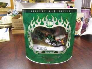 Holiday Hot Wheels Holiday Hauler 2000 Set #2 MIB