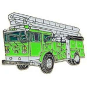 Fire Ladder Truck Pin Green 1 Arts, Crafts & Sewing