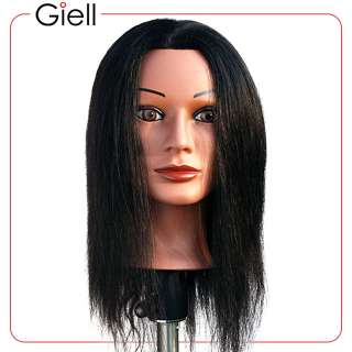 22 Cosmetology Mannequin Head Human Hair Ethnic Jenny
