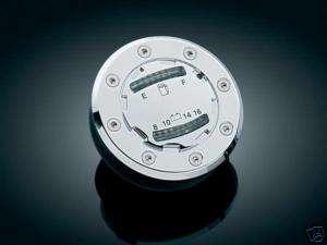 Kuryakyn 8375 Informer LED Flush Mount Gas Cap For Harley