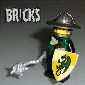 Medieval DRAGON KNIGHT Minifig LEGO Kingdoms Castle k7