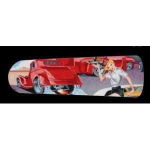 CLASSIC CARS HOT ROD DINER 42 CEILING FAN W/LIGHT