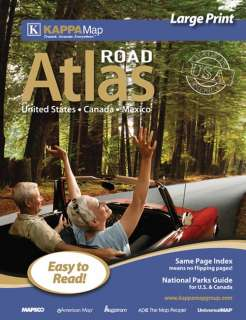 2012 UNITED STATES/USA, Canada, Mexico Road Atlas   Deluxe Spiral