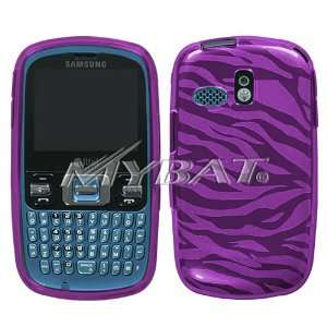 Hot Pink Zebra Skin Candy Skin Cover for Samsung R350 (Freeform), R351