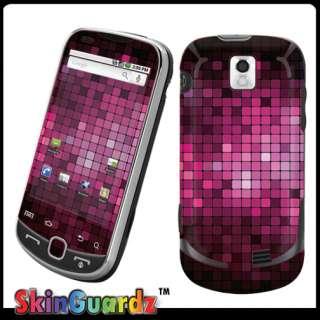 Mosaic Pink Black Vinyl Case Decal Skin to Cover Samsung Intercept
