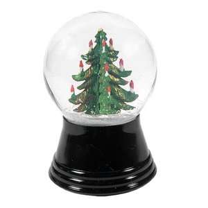 Small Christmas Tree Snow Globe Christmas Decor