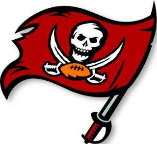 TAMPA BAY BUCCANEERS NFL Logo wall,window,sticker,decal