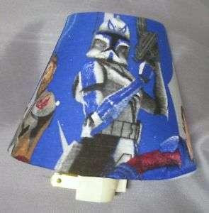 New Night Light Lite Vintage Star Wars Clone Obi Luke