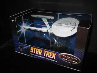 STAR TREK USS ENTERPRISE NCC 1701 A DIE CAST BY HOT WHEELS 2009