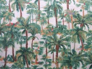 Wilmington Wild Palms Small Palm Trees Tropical Fabric