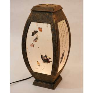 Rice Paper Shade Lantern Table Butterfly Home Restaurant Bar Art Deco