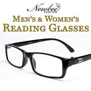 Plain Classic Thick Frame Reading Glasses Women & Men Various Power +1