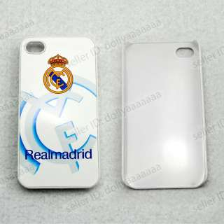 Real Madrid FC Soccer Mobile Cell Phone Hard Case Cover for iPhone 4