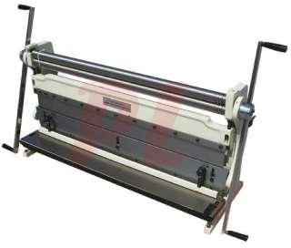 Sheet Metal Shear Finger Pan Box Brake Bender Slip Roll Roller