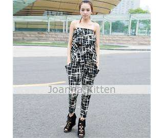 Women's Jumpsuit Overalls Trousers Pants Rompers