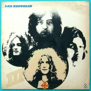 LP LED ZEPPELIN III   HARD ROCK HEAVY METAL 1970 BRAZIL