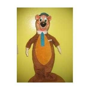 Vintage 1950s Yogi Bear Stuffed Plush Animal Toy