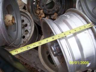 Chevy van mag wheel 1993 full size conversion truck rim aluminum