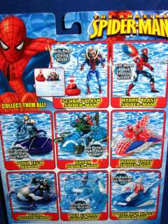 TOY BIZ MARVEL WEB SPLASHERS WEB CANNON SPIDER MAN