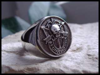 AJS © SPECIAL FORCES AIRBORNE RING SURGICAL STEEL (D9)