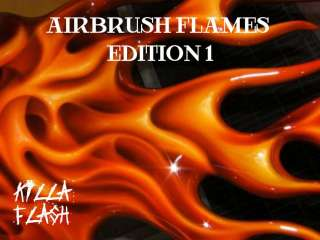 1500 AIRBRUSH FLAMES & TRIBAL DESIGNS ON CD