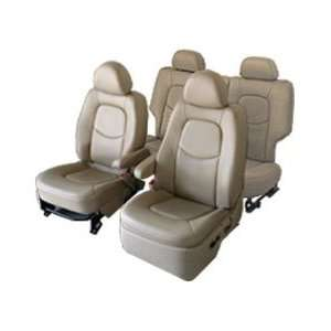 Genuine Leather Seat Covers   Chevrolet Tahoe/Suburban & GMC Envoy