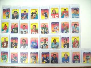 Original 1970 TOPPS SUPER GLOSSY COMPLETE SET #1 33