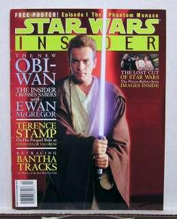 1998 STAR WARS INSIDER Magazine # 41  The New OBI WAN
