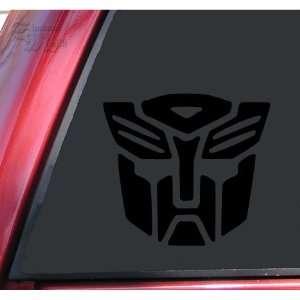 Transformers Autobot Vinyl Decal Sticker   Black